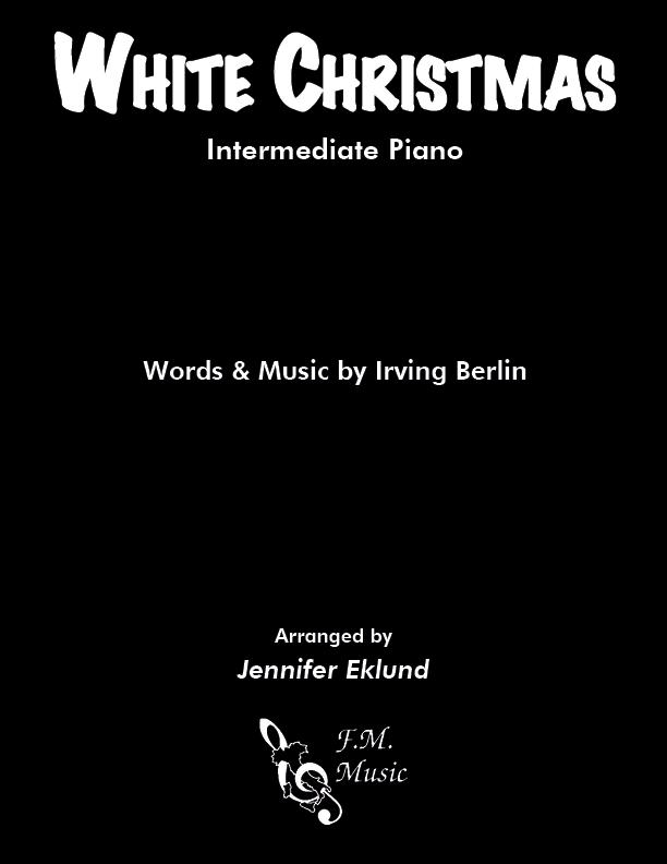 White Christmas (Intermediate Lyrical Piano)