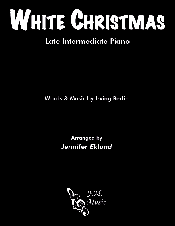White Christmas (Late Intermediate Piano)
