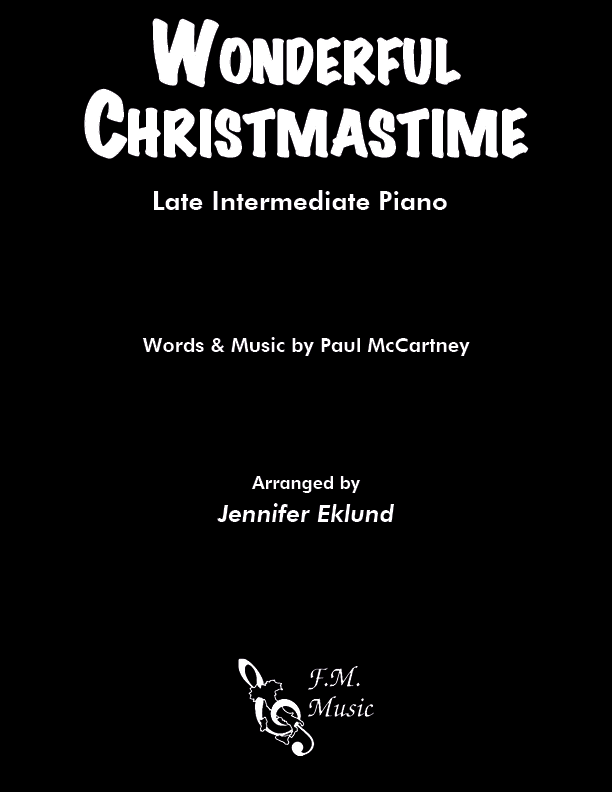 Wonderful Christmastime (Late Intermediate Piano)