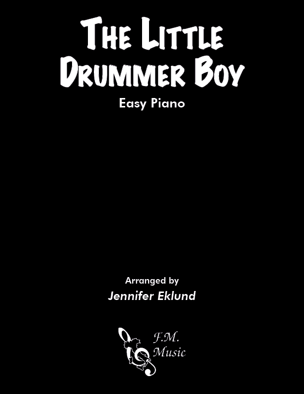 The Little Drummer Boy (Easy Piano)