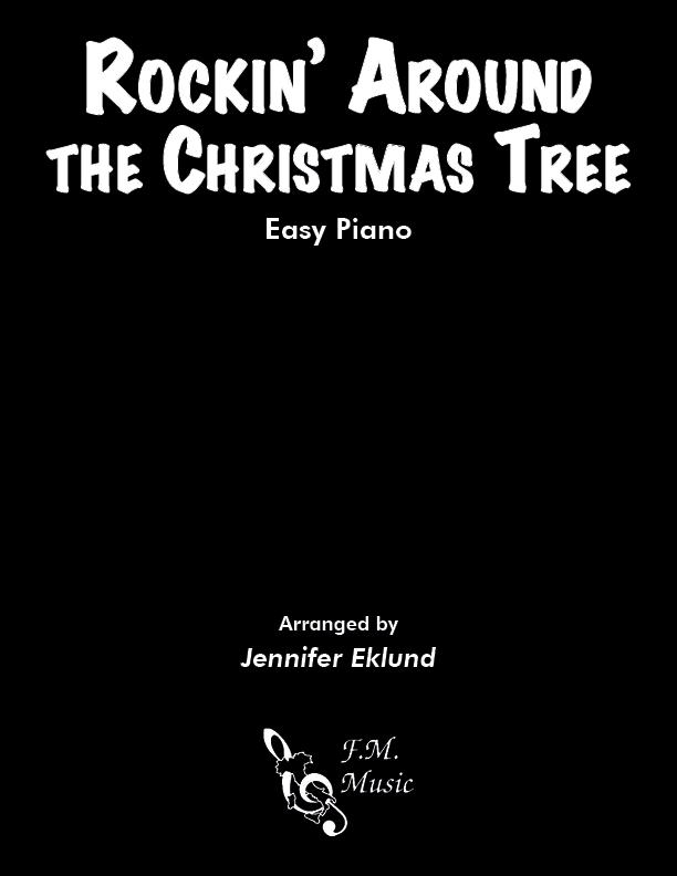 Rockin' Around the Christmas Tree (Easy Piano)