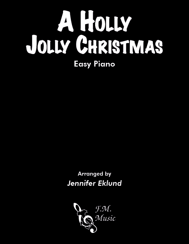 A Holly Jolly Christmas (Easy Piano)