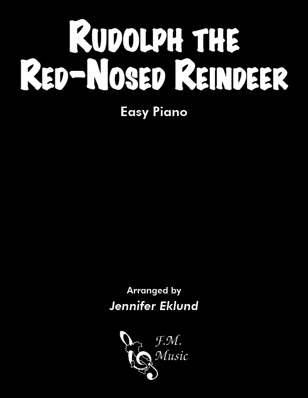 Rudolph the Red-Nosed Reindeer (Easy Piano)