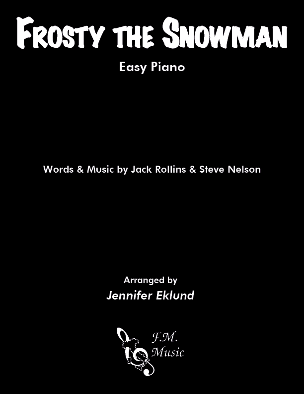 Frosty the Snowman (Easy Piano)