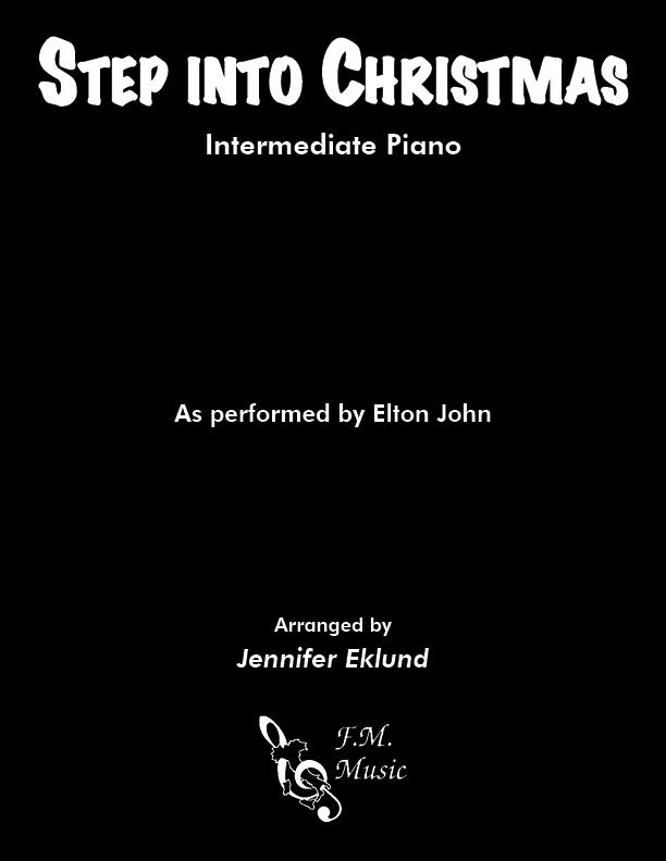 Step Into Christmas (Intermediate Piano)