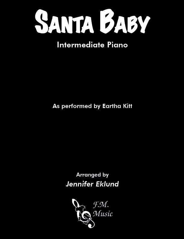 Santa Baby (Intermediate Piano)