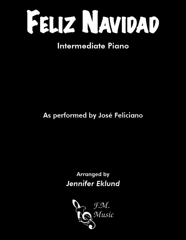 Feliz Navidad (Intermediate Piano)