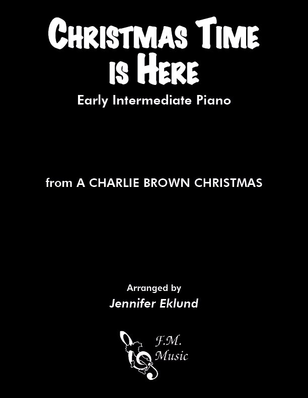 Christmas Time Is Here (Early Intermediate Piano)