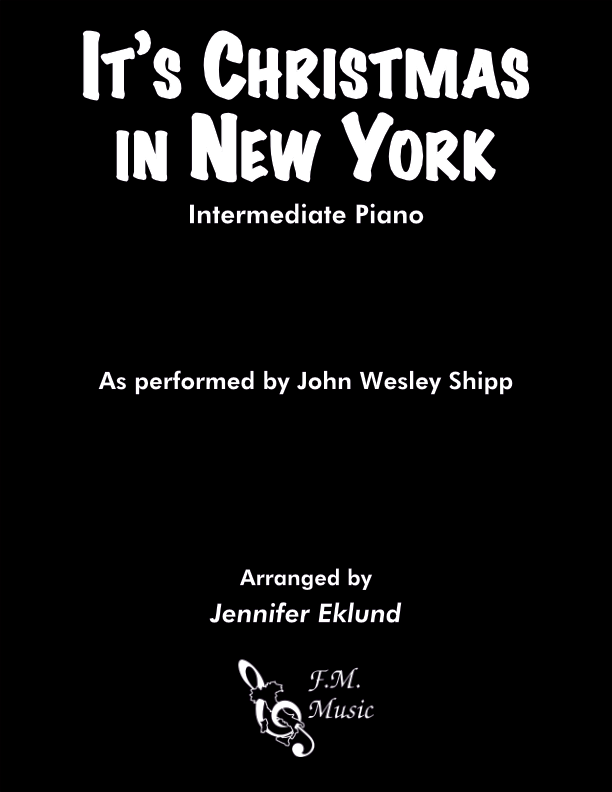 It's Christmas in New York (Intermediate Piano)