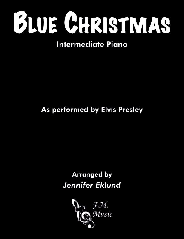 Blue Christmas (Intermediate Piano)