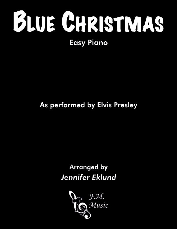 Blue Christmas (Easy Piano)