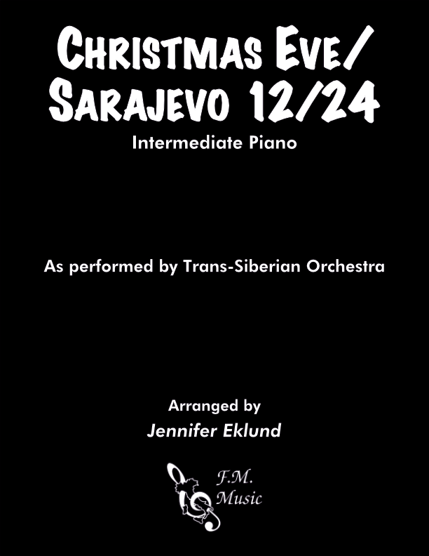 Christmas Eve/Sarajevo 12/24 (Intermediate Piano)