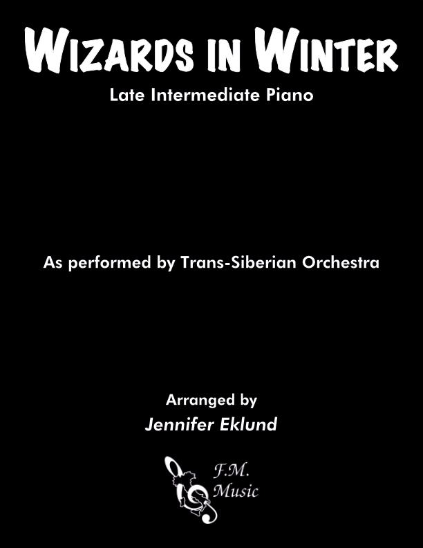 Wizards in Winter (Late Intermediate Piano)