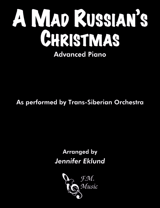 A Mad Russian's Christmas (Advanced Piano)