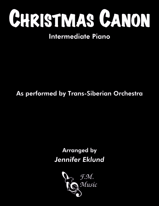 Christmas Canon (Intermediate Piano)