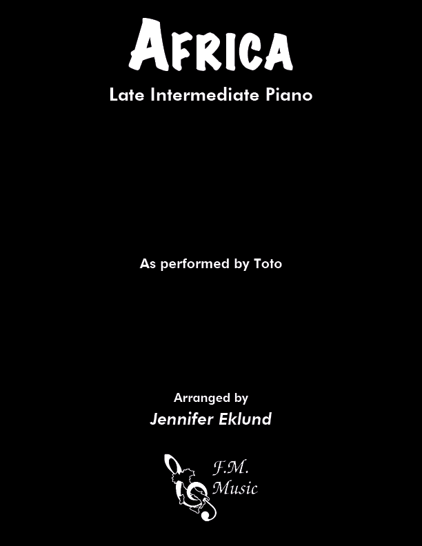 Africa (Late Intermediate Piano)