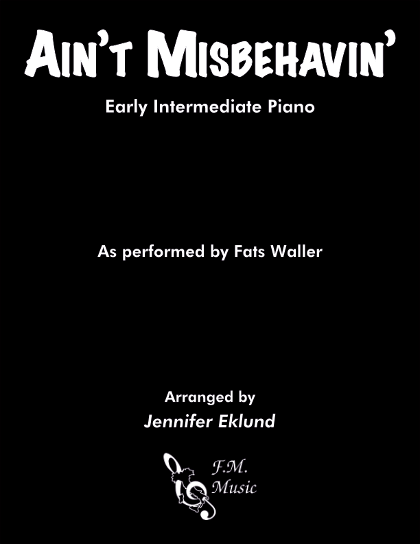 Ain't Misbehavin' (Early Intermediate Piano)