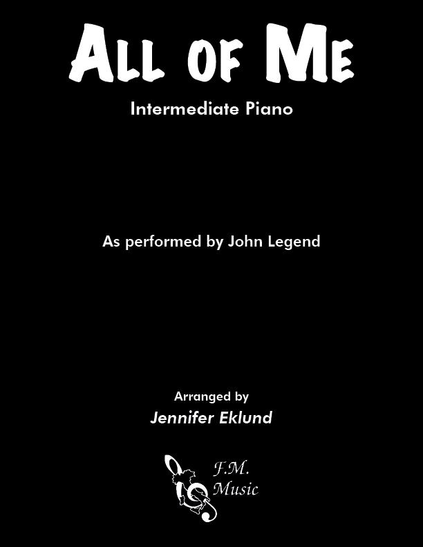 All Of Me (Intermediate Piano)