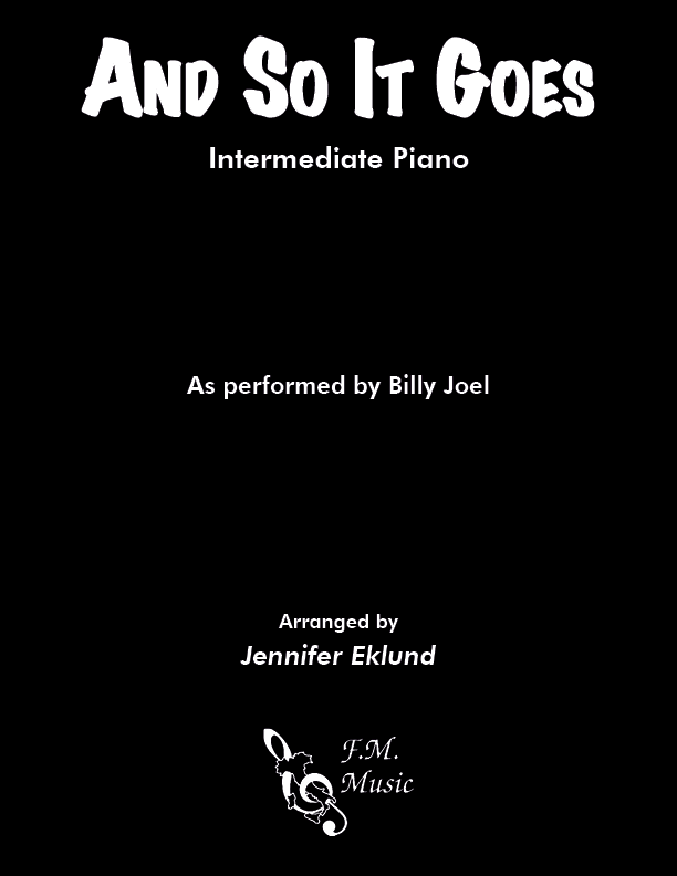 And So It Goes (Intermediate Piano)