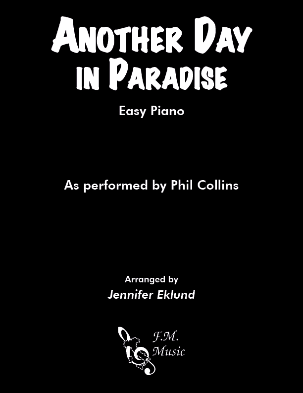 Another Day In Paradise (Easy Piano)