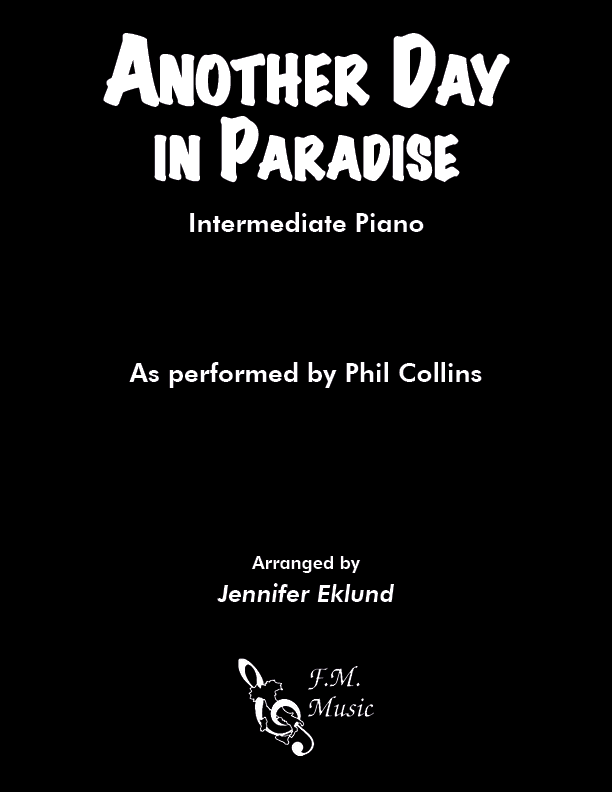 Another Day In Paradise (Intermediate Piano)