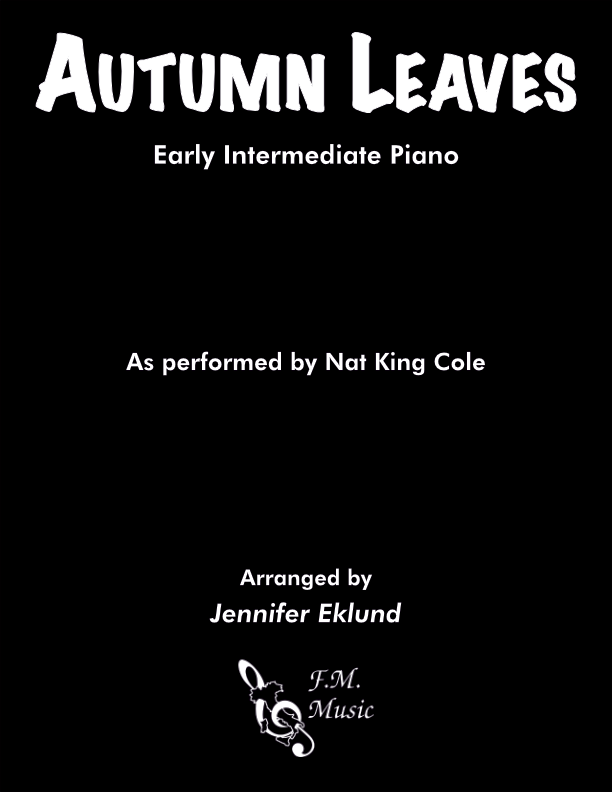 Autumn Leaves (Early Intermediate Piano)