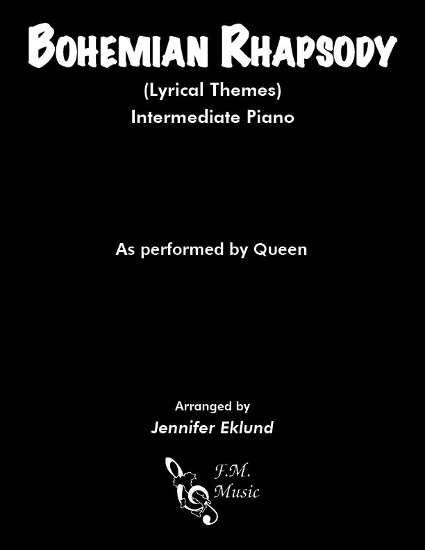Bohemian Rhapsody (Lyrical Themes for Intermediate Piano)