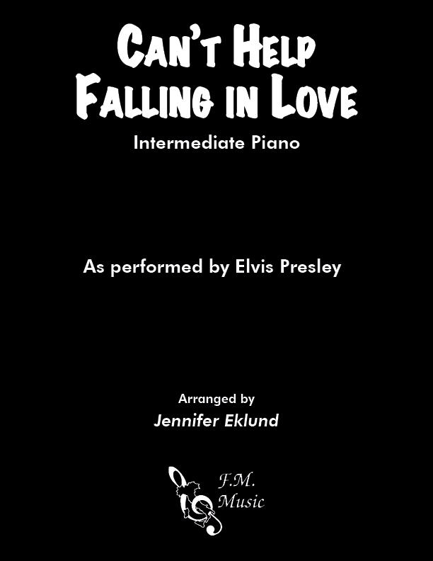 Can't Help Falling In Love (Intermediate Piano)