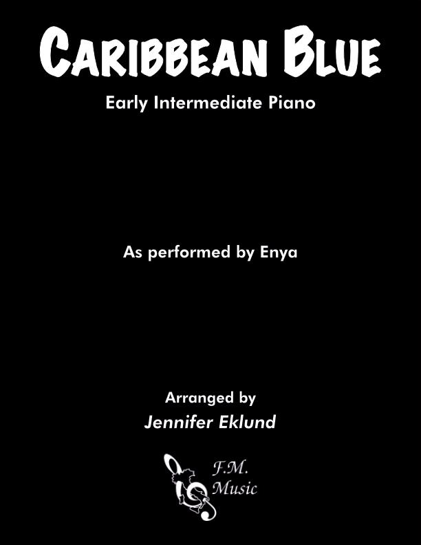 Caribbean Blue (Early Intermediate Piano)