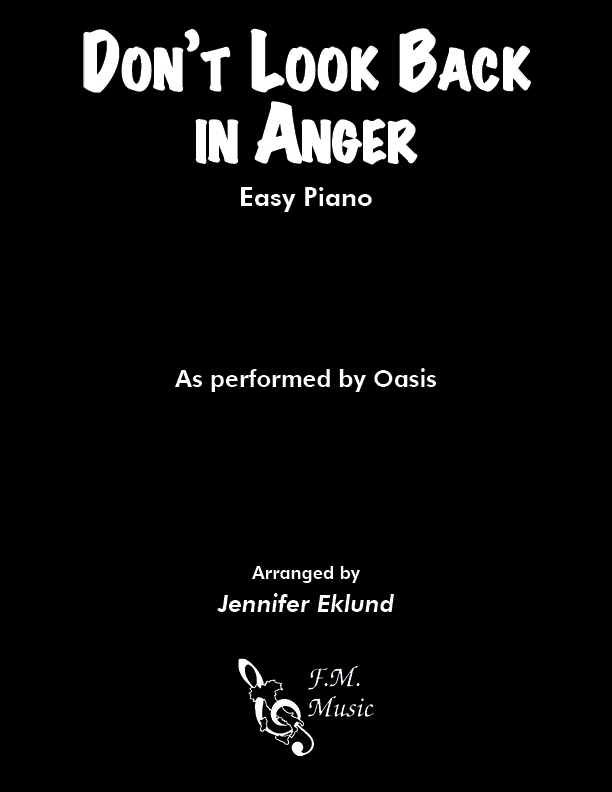 Don't Look Back In Anger (Easy Piano)
