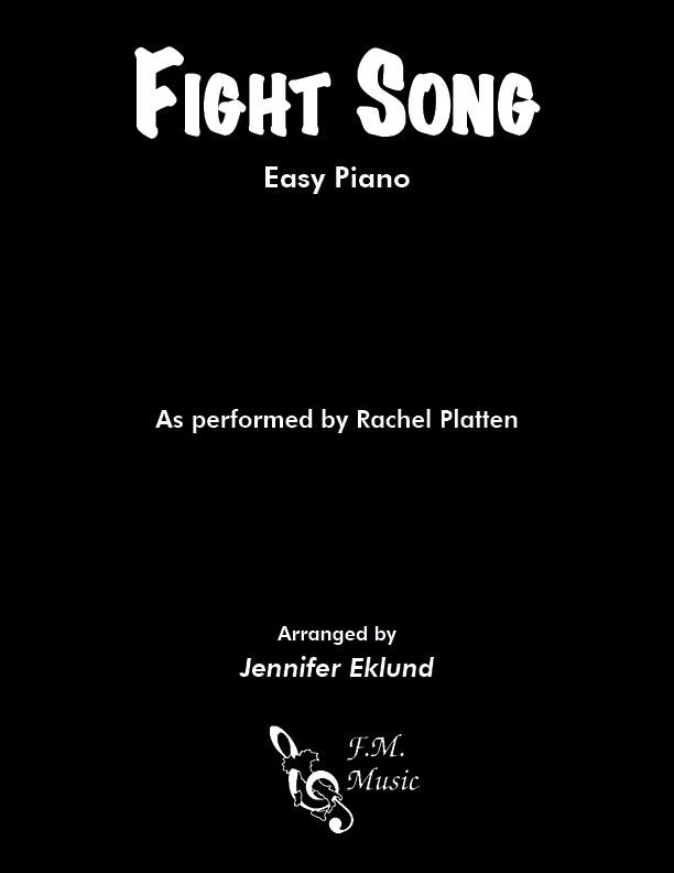 Fight Song (Easy Piano)