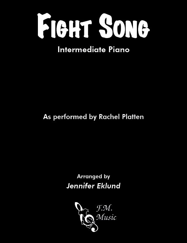Fight Song (Intermediate Piano)