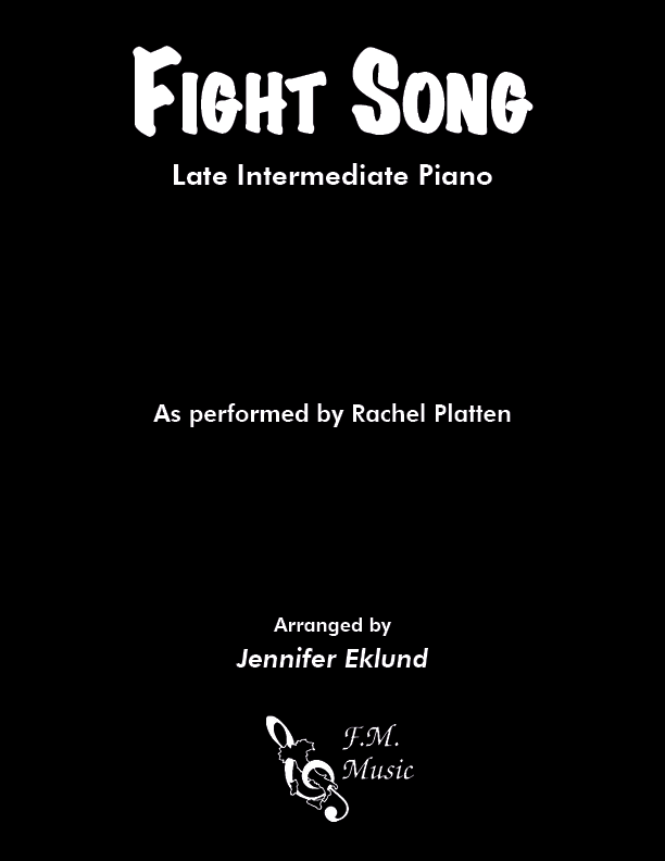 Fight Song (Late Intermediate Piano)