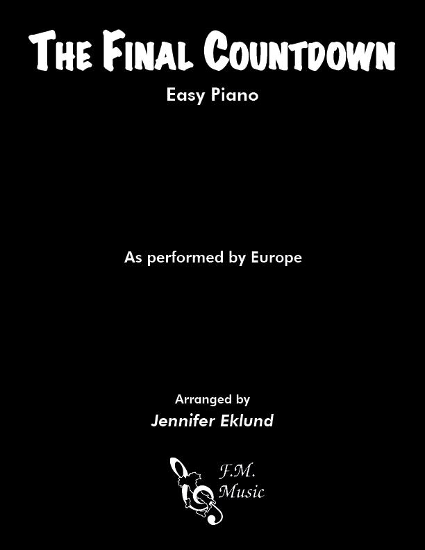 Final Countdown (Easy Piano)