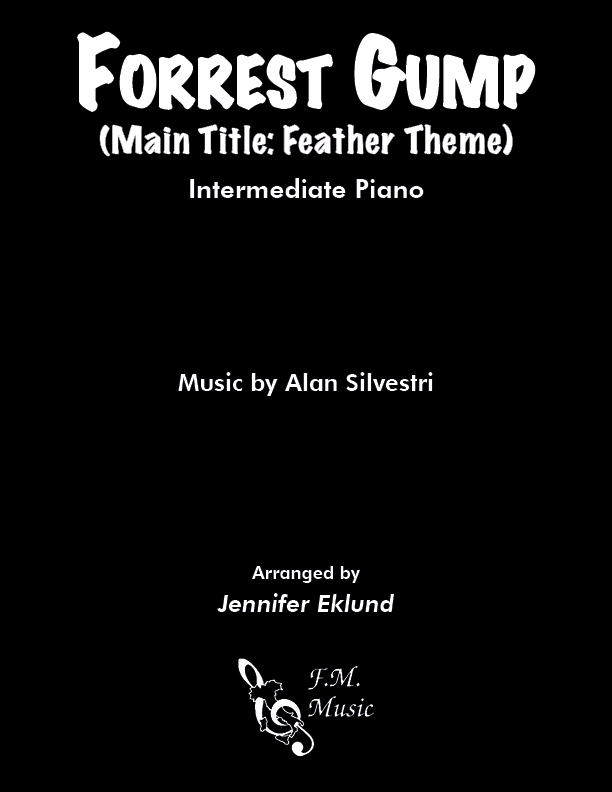 Forrest Gump (Feather Theme) (Intermediate Piano)