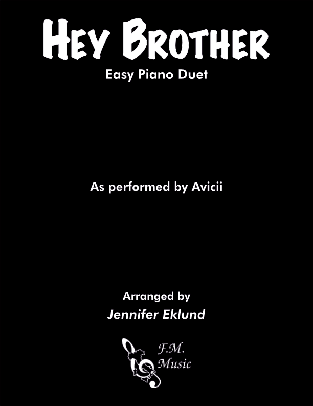 Hey Brother (Easy Piano Duet)