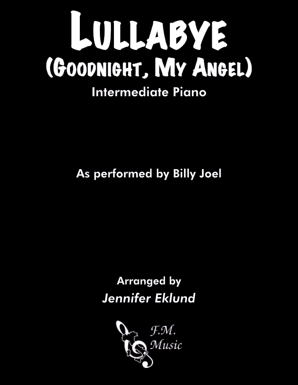 Lullabye (Goodnight, My Angel) (Intermediate Piano)
