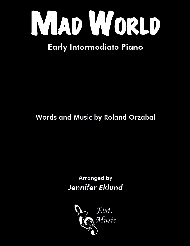 Mad World (Early Intermediate Piano)