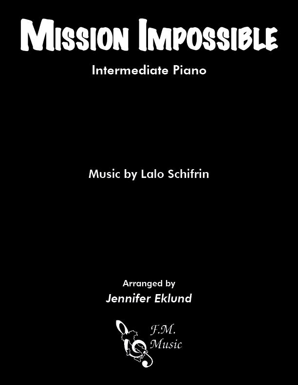 Mission Impossible Theme (Intermediate Piano)