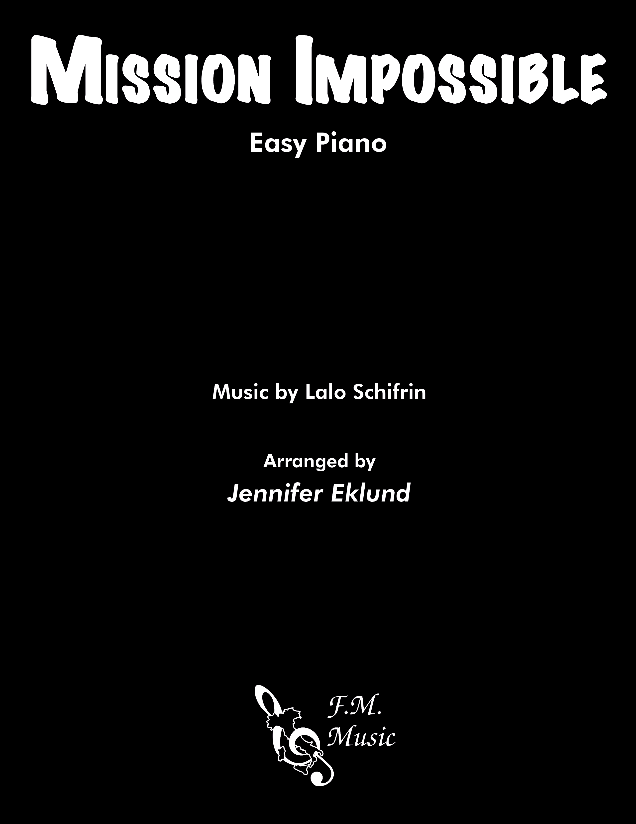 Mission Impossible Theme (Easy Piano)