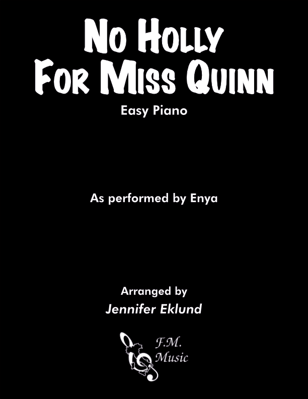 No Holly For Miss Quinn (Easy Piano)