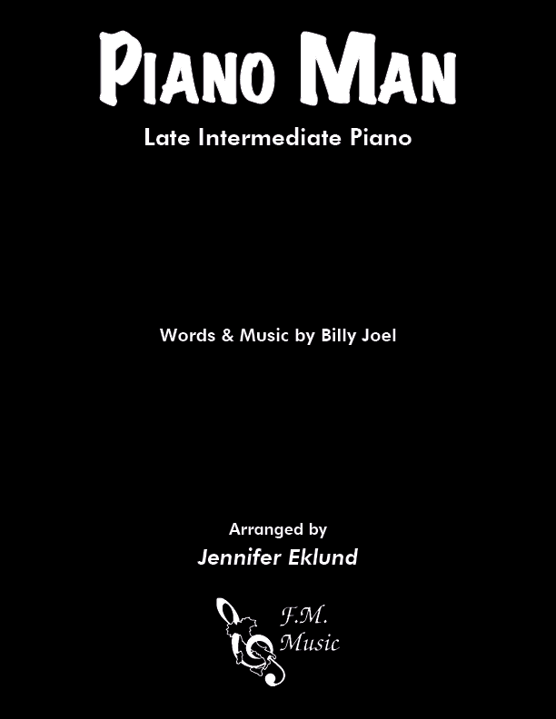 Piano Man (Late Intermediate Piano)