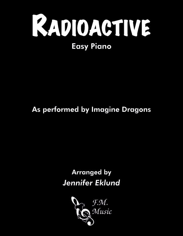 Radioactive (Easy Piano)