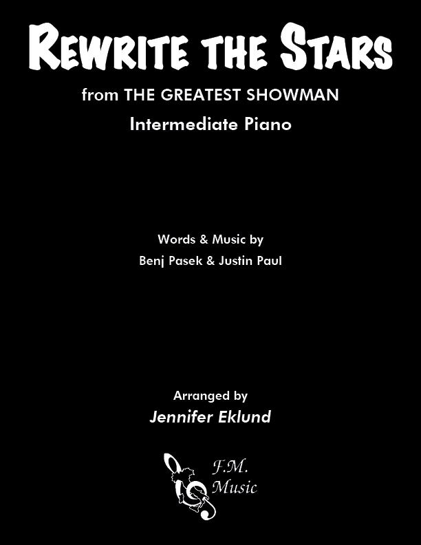 Rewrite The Stars (Intermediate Piano)
