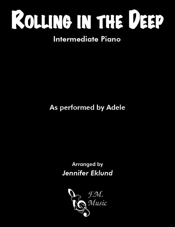 Rolling In The Deep (Intermediate Piano)