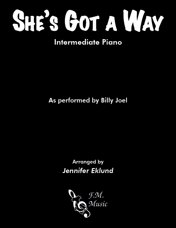 She's Got A Way (Intermediate Piano)