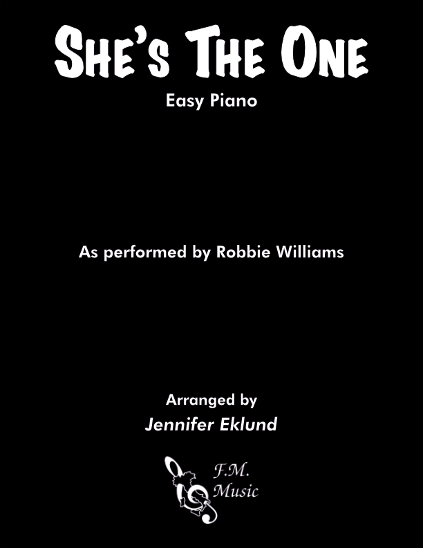 She's The One (Easy Piano)