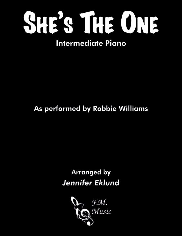 She's The One (Intermediate Piano)