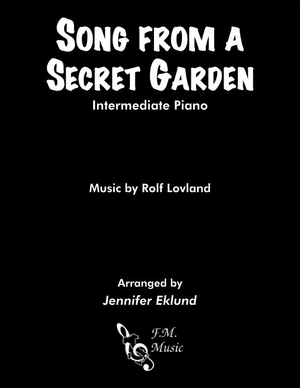 Song from A Secret Garden (Intermediate Piano)