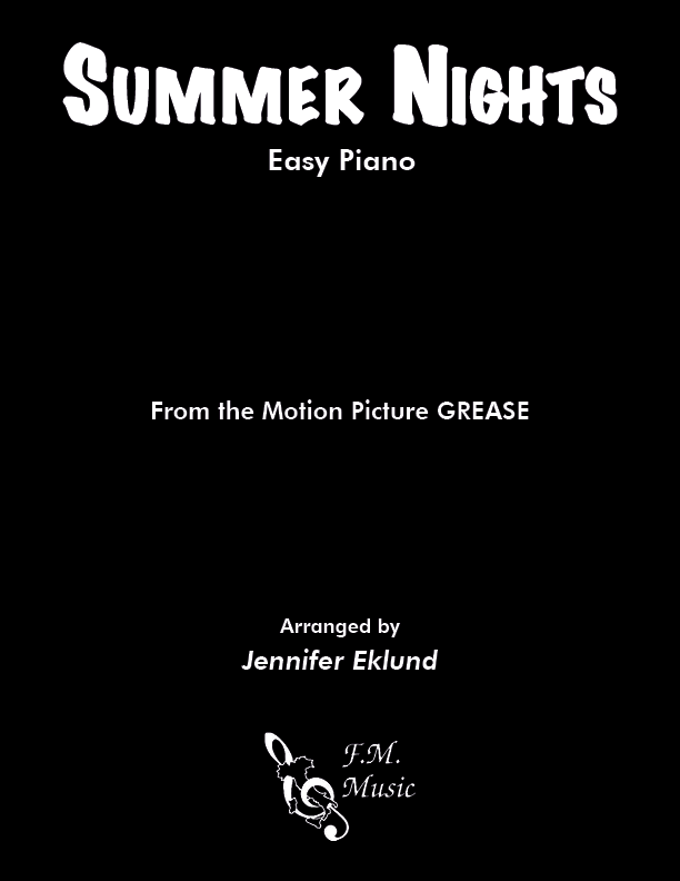 Summer Nights (Easy Piano)